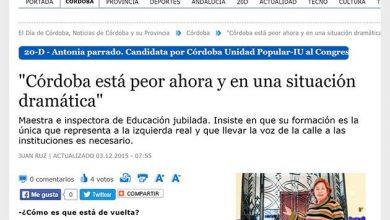 Photo of «Córdoba está peor ahora y en una situación dramática»