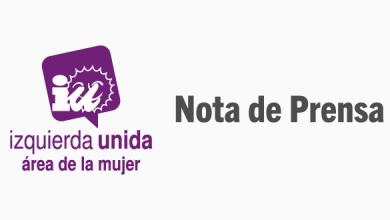 Photo of El Área de Mujer de IU apoya la marcha «Mujeres Tejiendo la Paz»