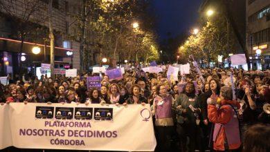 Photo of Histórica movilización en Córdoba por la Huelga Feminista del 8M