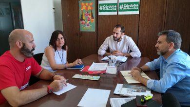 Photo of El grupo de IU en la Diputación se reúne con la Sección Sindical de CCOO en el Consorcio Provincial de Extinción de Incendios y Salvamento