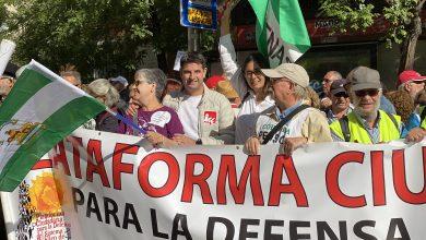 Photo of Córdoba se manifiesta en Madrid para reclamar unas Pensiones Públicas dignas