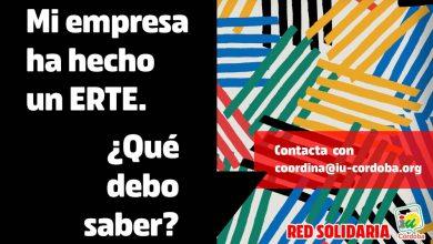 Photo of IU Córdoba crea una red solidaria de asesoramiento y apoyo para afrontar la crisis del Covid-19