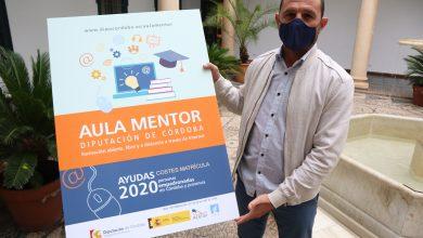 Photo of Diputación | Empleo destina 19.200 euros a becas para las matrículas de los cursos de Aula Mentor
