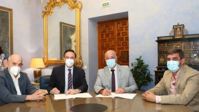 Photo of La Diputación y la UCO firman el convenio de colaboración, a través del cual se financiarán las actividades de la Cátedra de Memoria Democrática